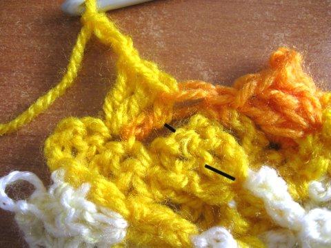 Woven Shell Stitch 4