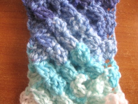 Crochet Stitches Meladora : Meladoras Creations The Woven Shell Stitch - Free Crochet Pattern