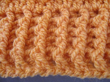 Interweave Cable Stitch Slouch Hat 1