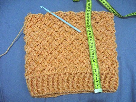 Interweave Cable Stitch Slouch Hat Free Crochet Pattern