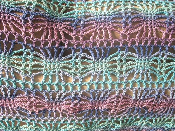Crochet Spider Shawl Pattern