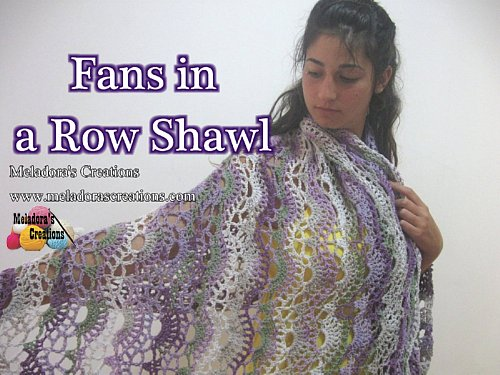 Large Shell Crochet Shawl Pattern