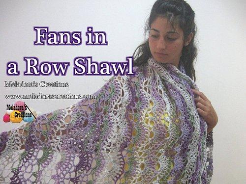 Large Shell Crochet Shawl Pattern