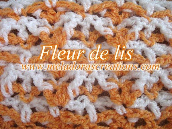 Fleur De Lis Stitch Free Crochet Pattern