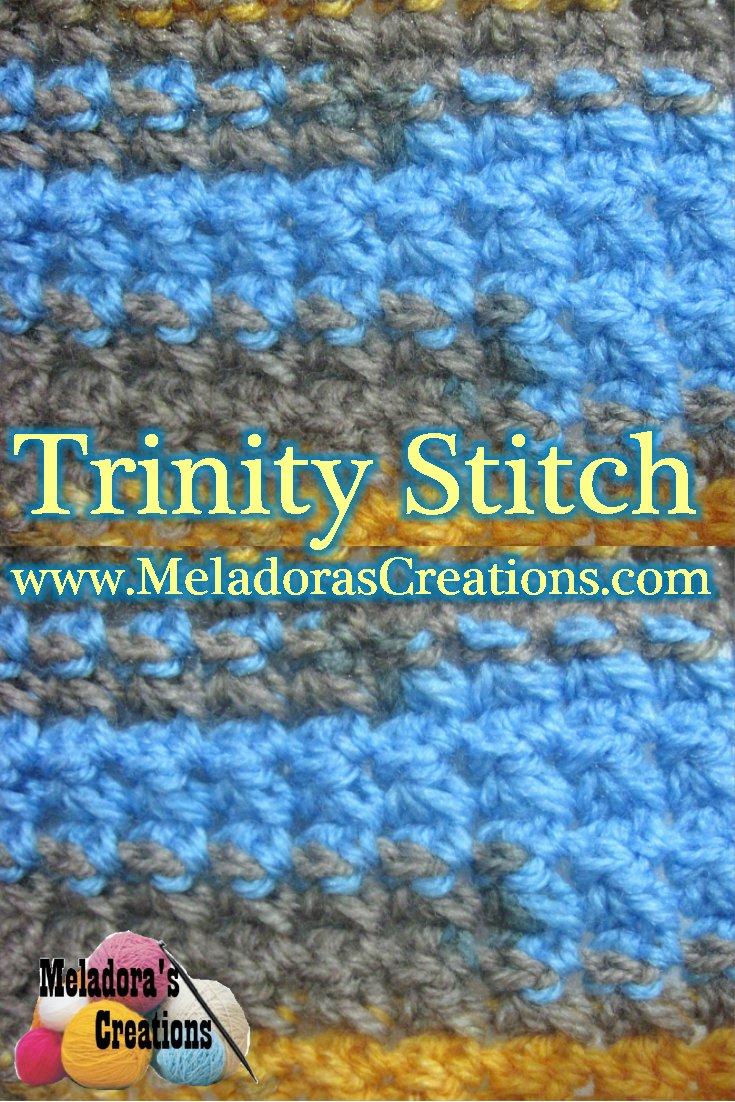 Trinity Stitch – Free Crochet pattern