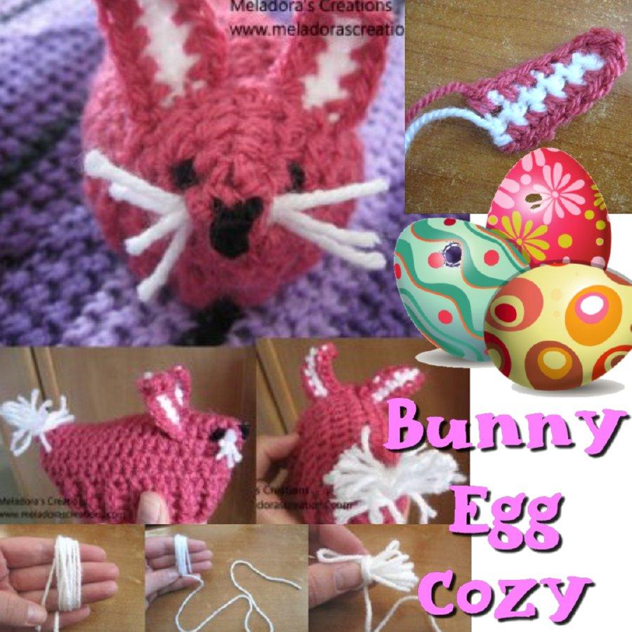 Bunny Egg Cozy Crochet Pattern - Easter Crochet - Free Crochet Pattern