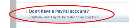 Pay pal credit card picture