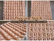 Popcorn Stitch Combo