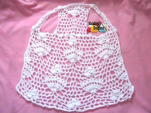 Royal Lace Vest Free Crochet Pattern