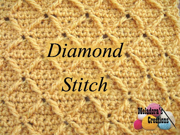 Diamond Stitch Crochet Stitch