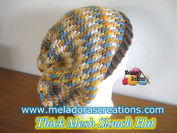 Mesh Slouch pic 600 Display