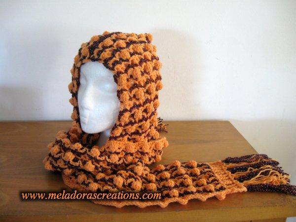 Shadow Stitch Scoodie Free Crochet Pattern