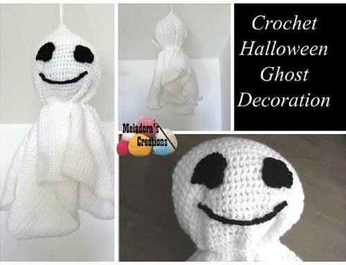 Crochet Halloween Ghost – Free Crochet Pattern