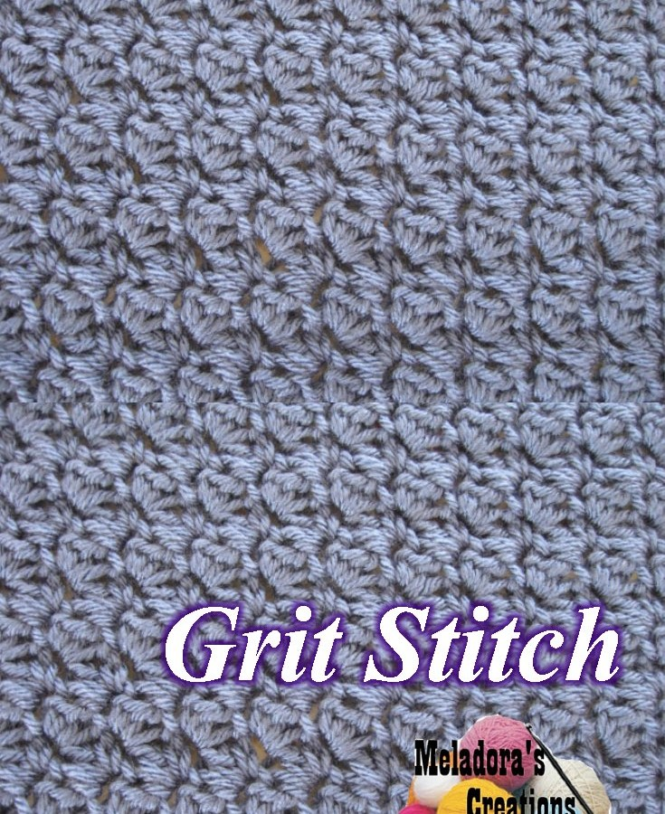 Crochet Stitches Grit : Grit Stitch Pinterest PIc