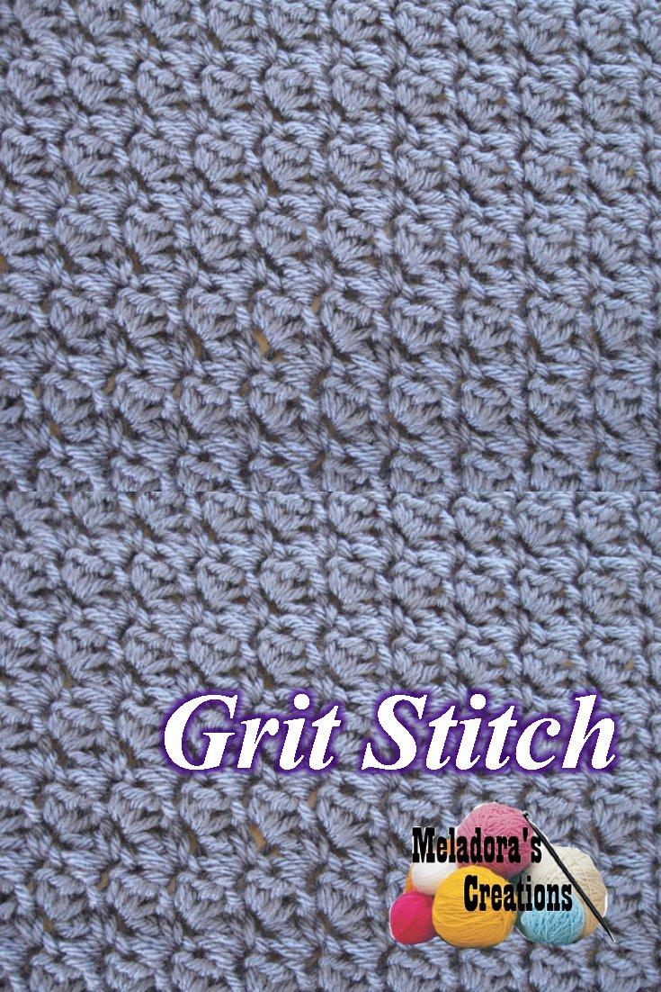 The Grit Stitch - Free crochet pattern