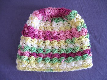 Free Crochet Zig Zag Hat Pattern : Meladoras Creations Zig Zag Beanie ? Free Crochet Pattern