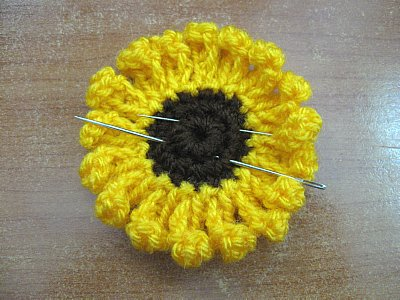 Free Crochet Sunflower Pattern Archives Meladoras Creations