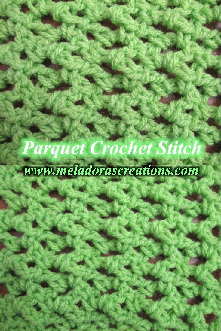 Parquet Crochet Stitch - Free Crochet Pattern