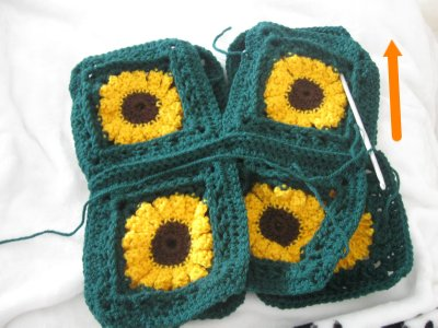 Sunflower Granny Sweater 10