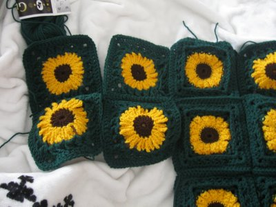 Sunflower Granny Sweater 13