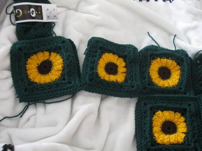 Sunflower Granny Sweater 14