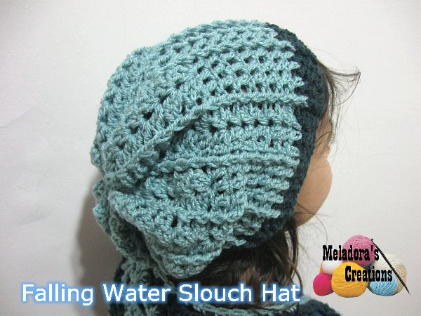 Meladora\'s Creations – Squiggly Slouch Hat – Free Crochet Pattern ...