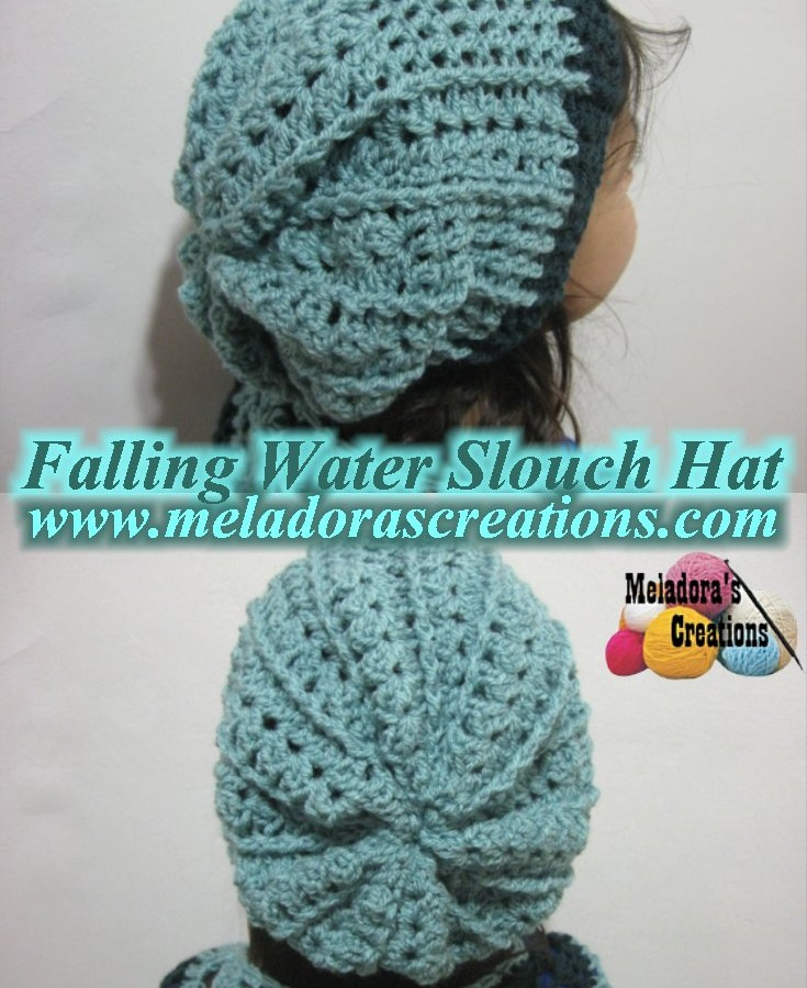 Slouchy Crochet Hat Pattern Free Image collections - knitting ...