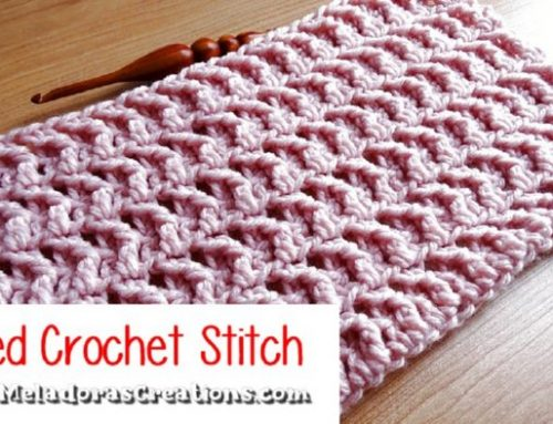 Jagged Crochet Stitch – Free Crochet pattern