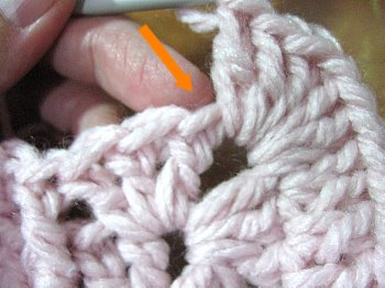 Lilly Pad Granny Square 12