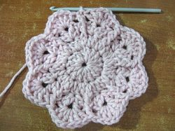 Lilly Pad Granny Square 8