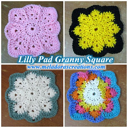 Lilly Pad Granny Square Combined 450 WM