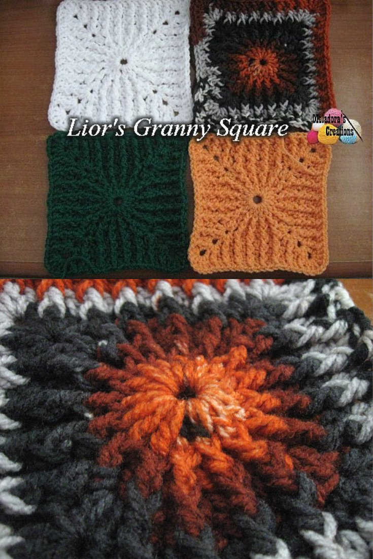 Lior's Granny Square – Free Crochet Pattern