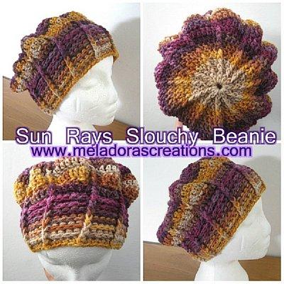 Meladora\'s Creations – Dimension Stitch Beanie – Free Crochet Pattern