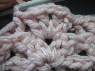 V stitch Scarf 3