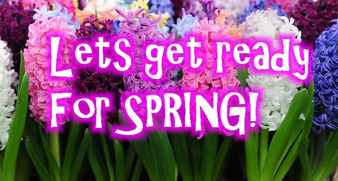 Get ready for spring YOUTUBE pic