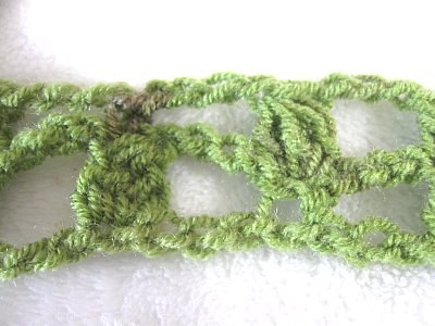 Lacy Cluster Ladder Scarf 8