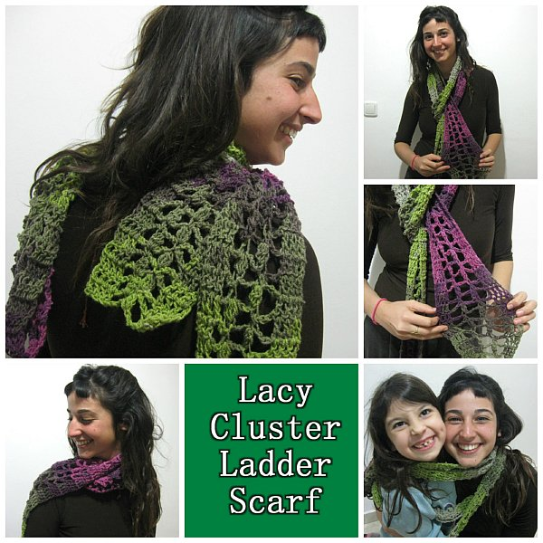 Lacy Cluster Ladder Scarf Combined 600 WM