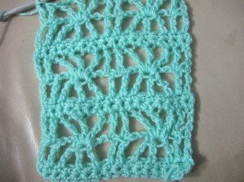 Lacy Star Scarf 17