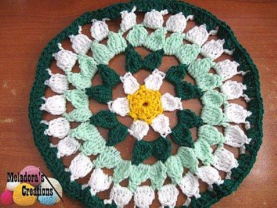 Spring Flower Doily – Free Crochet Pattern