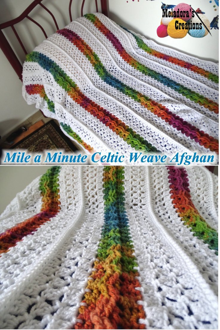 Mile A Minute Celtic Weave Afghan Pinterest Pic Meladoras Creations