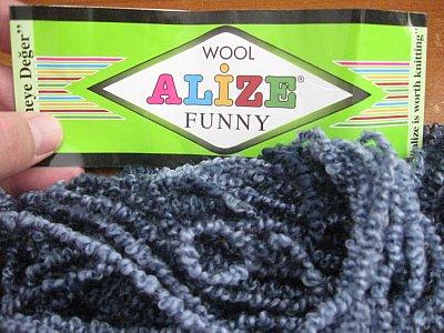Round rug Yarn 2