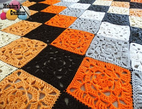 Lacy Flower Granny Square – Free Crochet Pattern