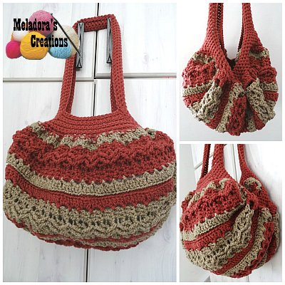 Celtic Weave Strip Hobo Bag Free Crochet Pattern Meladora's Best Crochet Hobo Bag Pattern
