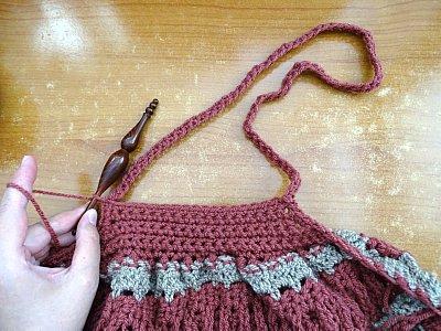 Celtic Weave Strips Hobo Bag 17
