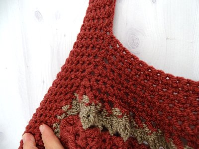 Celtic Weave Strips Hobo Bag 21