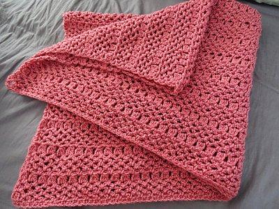 Elegant Baby Blanket Free Crochet Pattern And Tutorial
