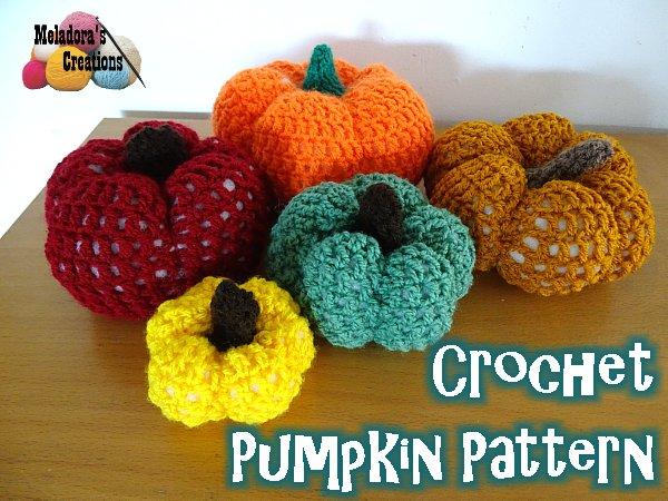 Crochet Pumpkin Free Crochet Pattern Meladoras Creations