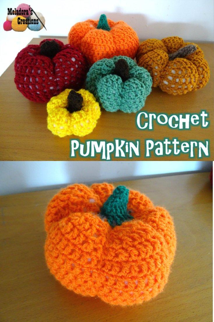 Beginner Friendly Crochet Pumpkin – Free Crochet Pattern and video tutorials