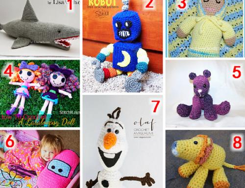 Crochet Toys Round Up