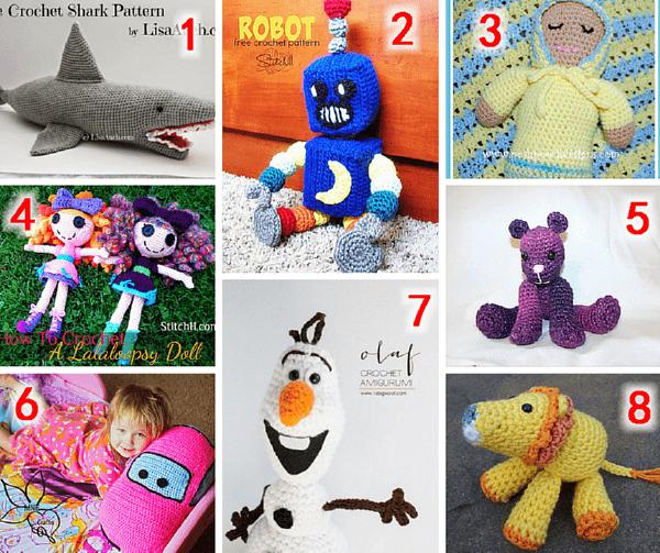Meladoras Creations Crochet Toys Round Up